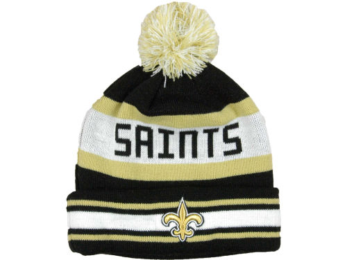 New Orleans Saints New Era NFL Jake Knit Hats