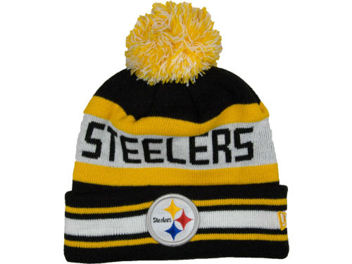 Pittsburgh Steelers New Era NFL Jake Knit Hats