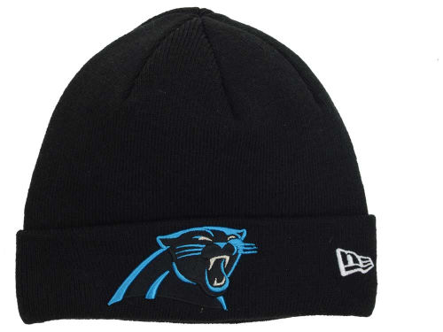 Carolina Panthers New Era NFL Basic Cuff Knit Hats