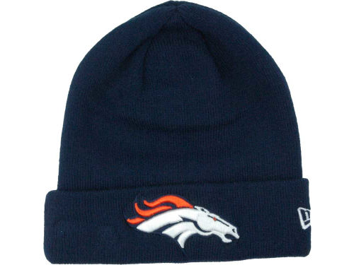 Denver Broncos New Era NFL Basic Cuff Knit Hats