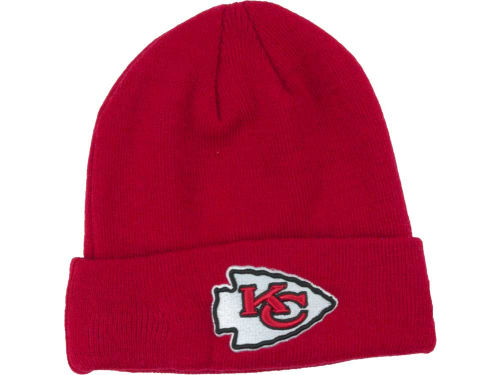 Kansas City Chiefs New Era NFL Basic Cuff Knit Hats