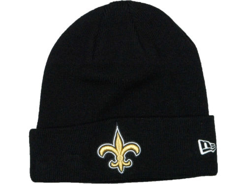New Orleans Saints New Era NFL Basic Cuff Knit Hats