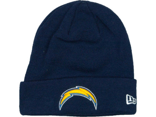 San Diego Chargers New Era NFL Basic Cuff Knit Hats