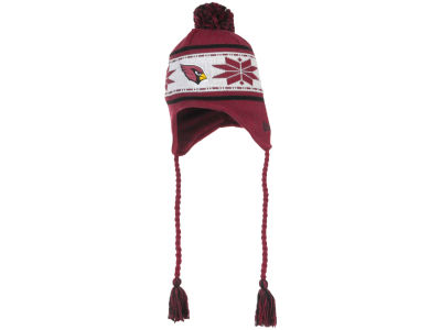 Arizona Cardinals NFL Striped Snowflake Knit Hats