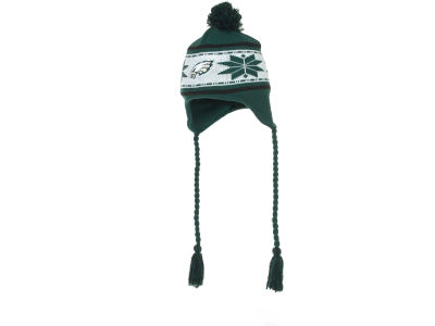 Philadelphia Eagles NFL Striped Snowflake Knit Hats