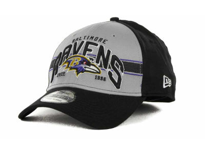 Baltimore Ravens NFL Tri Band 39THIRTY Hats