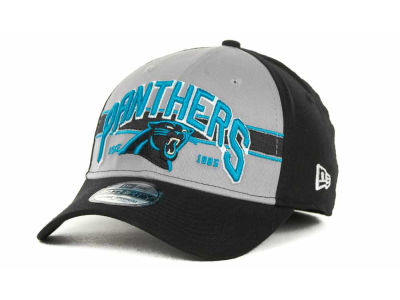 Carolina Panthers NFL Tri Band 39THIRTY Hats