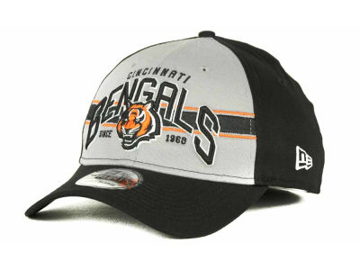 Cincinnati Bengals NFL Tri Band 39THIRTY Hats