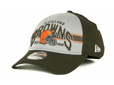Cleveland Browns NFL Tri Band 39THIRTY Hats