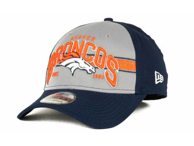 Denver Broncos NFL Tri Band 39THIRTY Hats
