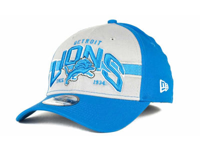 Detroit Lions NFL Tri Band 39THIRTY Hats