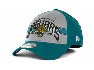 Jacksonville Jaguars NFL Tri Band 39THIRTY Hats