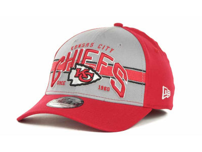 Kansas City Chiefs NFL Tri Band 39THIRTY Hats