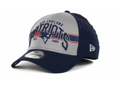 New England Patriots NFL Tri Band 39THIRTY Hats
