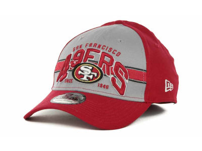 San Francisco 49ers NFL Tri Band 39THIRTY Hats