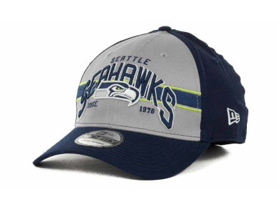 Seattle Seahawks NFL Tri Band 39THIRTY Hats