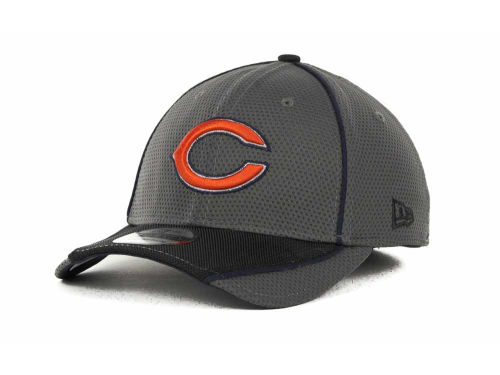 Chicago Bears New Era NFL Abrasion 39THIRTY Cap Hats
