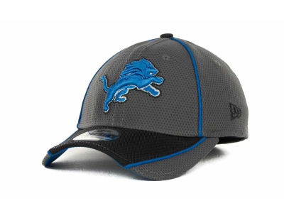 Detroit Lions NFL Abrasion 39THIRTY Cap Hats