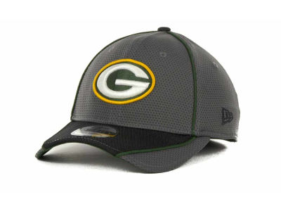 Green Bay Packers NFL Abrasion 39THIRTY Cap Hats