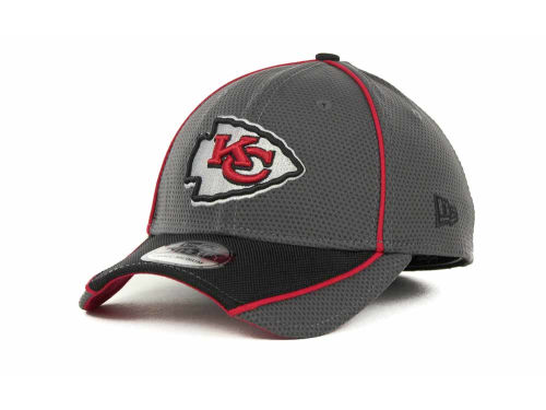 Kansas City Chiefs New Era NFL Abrasion 39THIRTY Cap Hats