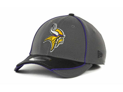 Minnesota Vikings NFL Abrasion 39THIRTY Cap Hats