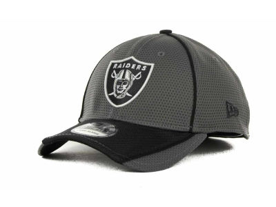 Oakland Raiders NFL Abrasion 39THIRTY Cap Hats