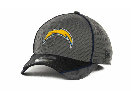 San Diego Chargers New Era NFL Abrasion 39THIRTY Cap Hats