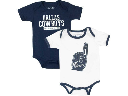 Dallas Cowboys NFL Newborn Little Guy 2pk Set