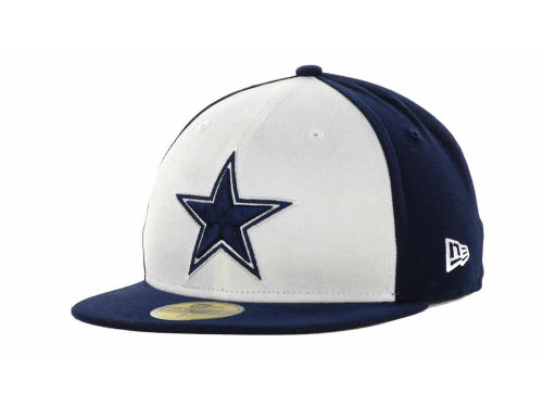 Dallas Cowboys New Era NFL Official On Field 59FIFTY Hats