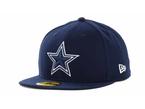 Dallas Cowboys New Era NFL Official On Field 59FIFTY Cap Hats
