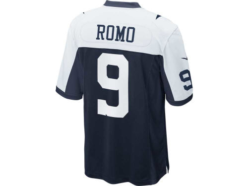 Dallas Cowboys Tony Romo Nike NFL Youth Game Throwback Jersey