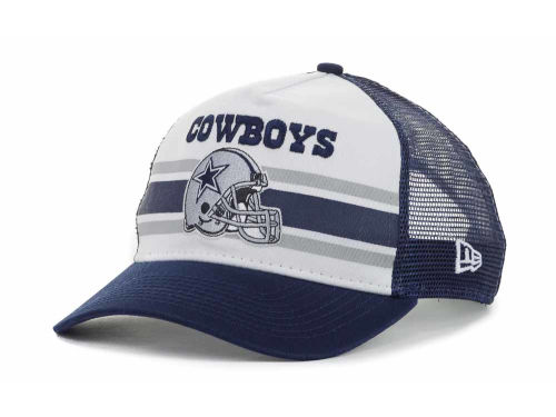 Dallas Cowboys New Era NFL Spiral Stripe 9FORTY Hats
