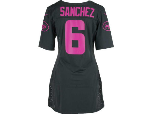 New York Jets Mark Sanchez Nike NFL Womens BCA Fashion Jersey