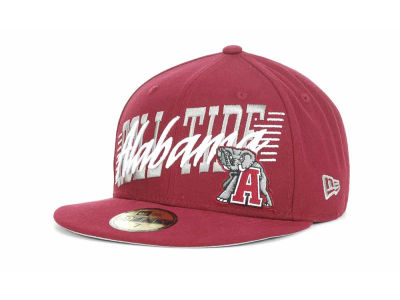 Alabama Crimson Tide NCAA Writers Block 59FIFTY Hats