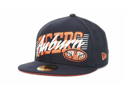 Auburn Tigers NCAA Writers Block 59FIFTY Hats