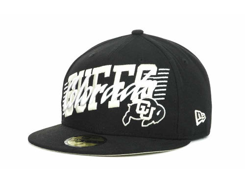Colorado Buffaloes New Era NCAA Writers Block 59FIFTY Hats