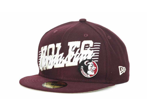 Florida State Seminoles New Era NCAA Writers Block 59FIFTY Hats