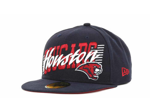 Houston Cougars New Era NCAA Writers Block 59FIFTY Hats