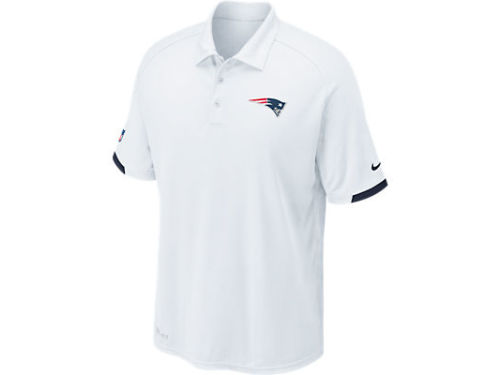 New England Patriots Nike NFL Dri-Fit Practice Polo