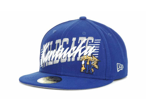 Kentucky Wildcats New Era NCAA Writers Block 59FIFTY Hats