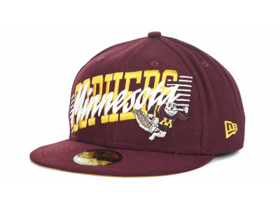 Minnesota Golden Gophers NCAA Writers Block 59FIFTY Hats