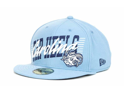 North Carolina Tar Heels New Era NCAA Writers Block 59FIFTY Hats