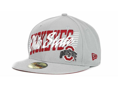 Ohio State Buckeyes NCAA Writers Block 59FIFTY Hats