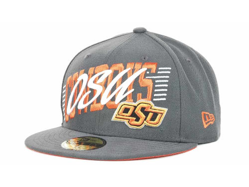 Oklahoma State Cowboys New Era NCAA Writers Block 59FIFTY Hats
