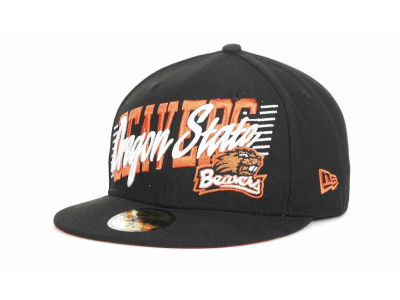 Oregon State Beavers NCAA Writers Block 59FIFTY Hats