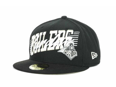 Purdue Boilermakers NCAA Writers Block 59FIFTY Hats