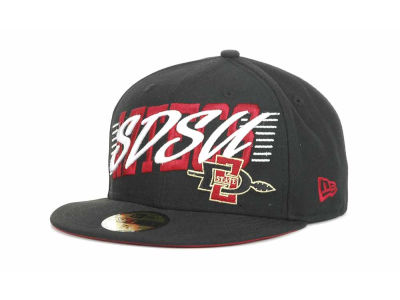 San Diego State Aztecs NCAA Writers Block 59FIFTY Hats