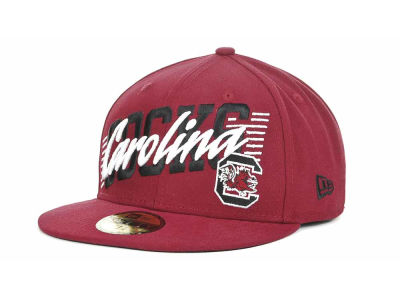 South Carolina Gamecocks NCAA Writers Block 59FIFTY Hats