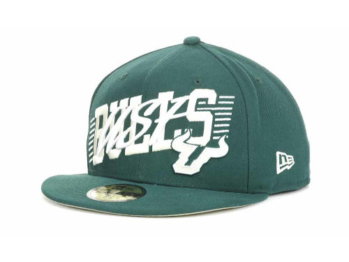 South Florida Bulls New Era NCAA Writers Block 59FIFTY Hats