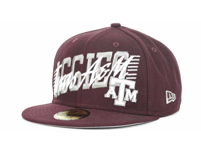 Texas A&M Aggies NCAA Writers Block 59FIFTY Hats